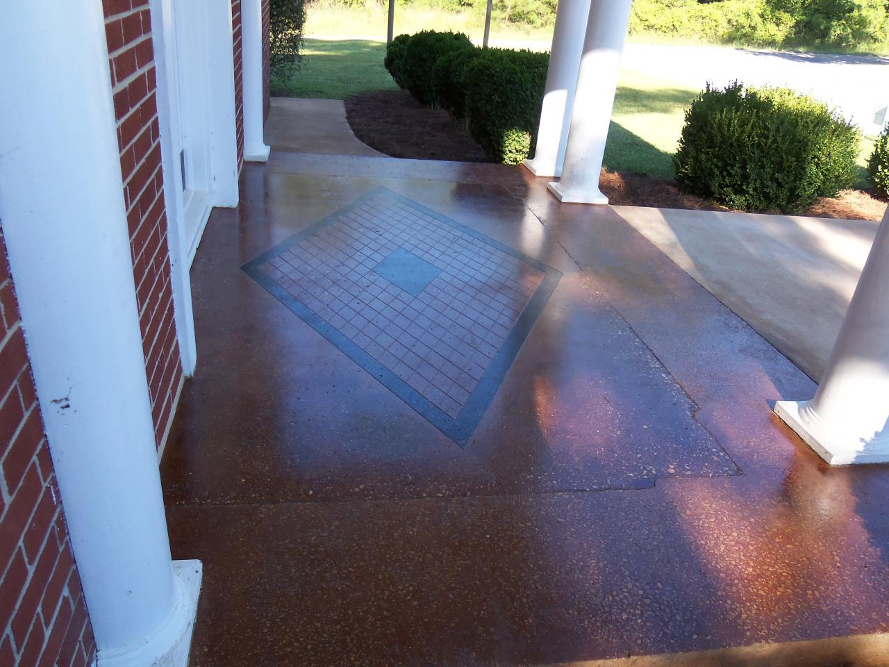 Gooden 39 s floors and more decorative stained concrete for Floor and more