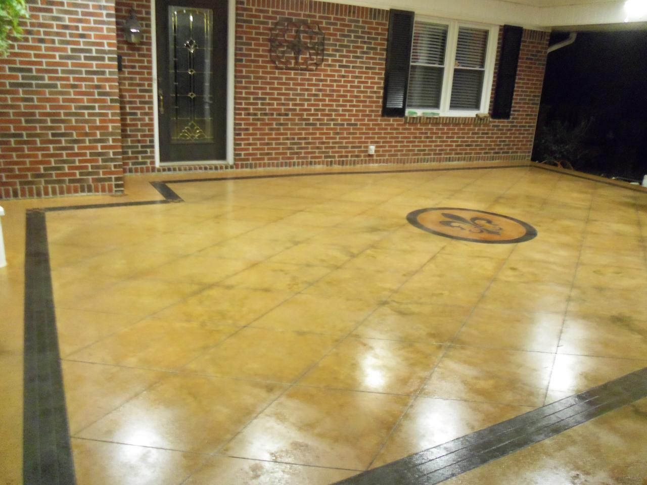 Gooden\'s Floors and More - Decorative Stained Concrete